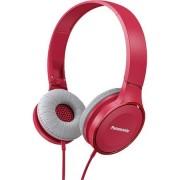 HEADPHONES, Panasonic RP-HF100E-P, Microphone, Pink