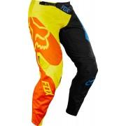 Fox 360 Preme Pantalones Negro Amarillo 28