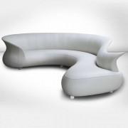 Desforma Canapé d'angle long design DESFORMA Verona corner prolonged