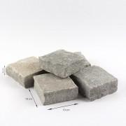 Piatra Cubica Ardezie Kavala Natur 20 x 10 x 3-5 cm (1 tona = 9-11 mp)