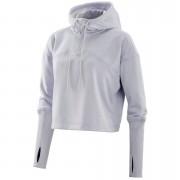 Skins Plus Women's Wireless Tech Fleece Cropped Hoody - Sora/Marle - XS - Purple
