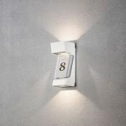 Vägglykta med husnummer Ravenna - 3 x 4W LED