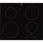 Plita incorporabila Electrolux EHH6240ISK, 4 zone Inductie, Touch Control, 60 cm, Sticla neagra
