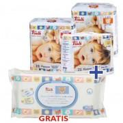 Trudi dječje pelene 3 paketa + maramice GRATIS
