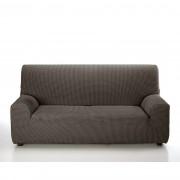 Husă elastică de canapea, Set maro, 240 - 270 cm