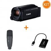 Kit Live Entry Level cu Canon HF R806 + Placa de Captura + Microfon
