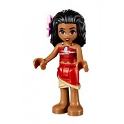 LEGO Disney MiniFigure - Moana (Red Skirt, Pink Flower) 41149