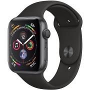 Apple Watch Series 4 Gps, 40mm Gwiezdna Szarość Z Paskiem W Kolorze Czarnym