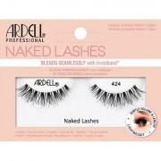 Ardell Naked Lashes 424 umělé řasy pro přirozený vzhled 1 ks odstín Black pro ženy