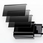 "Capa Bolsa Carbono Apple iPhone XI / 11 5.8"" Pro"