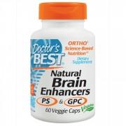 Doctor's Best, Stimulare circulatie cerebrala, 60 Capsule vegetale + TRANSPORT GRATUIT