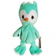 Green Owl Precious Moments Tender Tails Bean Bag Plush