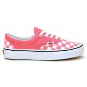VANS - obuv STR UA Era (CHECKERBOARD) strawberry pink Velikost: 5.5