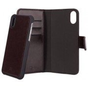Apple Xqisit Wallet Case Eman iPhone X Brown