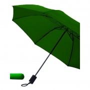 Merkloos Opvouwbare paraplu donkergroen 85 cm