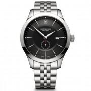 Victorinox Alliance Reloj de cuarzo acero inoxidable black-silver