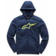 Alpinestars Ageless Fleece Kids Hoodie Azul Amarillo 2XL