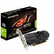 VGA Gigabyte GV-N1050OC-3GL, nVidia GeForce GTX 1050, 3GB, do 1569MHz, DP, DVI-D, HDMI 2x, Low-profile, 24mj