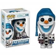 Funko Pop Olaf With Kittens Con Gatos Disney Frozen Gatitos Nuevo