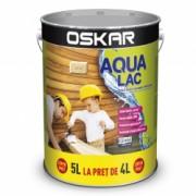 Lac pentru lemn Oskar Aqua Lac pe baza de apa incolor 5L