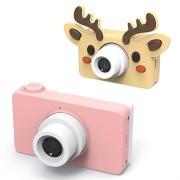 Mini HD Digitale Camera voor Kinderen D8 - 8MP - Roze / Wildhert