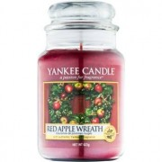 Yankee Candle Red Apple Wreath scented candle Classic Large 623 g