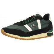 Lacoste Partner Zapatillas para Hombre, Verde Oscuro/Blanco desteñido, 11 M US
