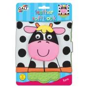 James Galt & Co. Ltd Galt Soft Book Libretti In Stoffa Disegno Mucca 1 Pezzo