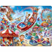Puzzle Parc de Distractii 17 Piese Larsen LRUS29