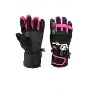 Finn dětské zimní rukavice C075 8-9 let růžová