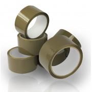 Ragasztószalag Acryl, Havanna barna 48mm x 50 méter, 36 tekercs/doboz
