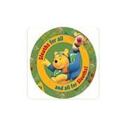 Covor copii rotund Pooh si Tiger 140x140 cm