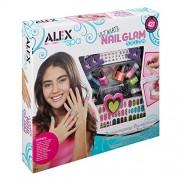 Alex Toys Spa Fun, Tattoo's and More, Ultimate Nail Glam Salon Kit, Multi Color