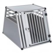 Транспортна клетка за кучета AluRide - размер M: Ш 65 x Д 92 x В 65 см