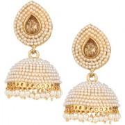 Pourni exclusive Designer Pearl Jhumka Earring -DSER05