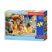 Puzzle Prietenii necuvantatori, 120 piese