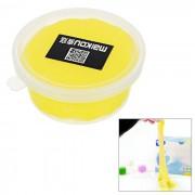 MAIKOU no toxicos de proteccion del medio ambiente bricolaje educativo de plastico suave juguete de plastilina - amarillo oscuro