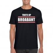 Shoppartners Trots op Broabant heren T-shirt zwart