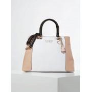 Guess Tas Holly Color Block - Wit multi - Size: T/U