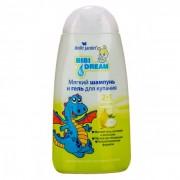 BIBI DREAM - Kupka i šampon za negu osetljive dečije kože i kose - kruška 300ml