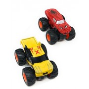 Akrobo Palm Size Super Hero Car Spiderman & X-Men Inertia Powered and Four Wheel Drive Power