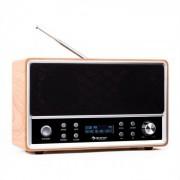 Charleston DAB+-Digitalradio tragbar UKW RDS Wecker buche