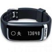 Смарт гривна Beurer AS 87, Bluetooth, показания за измерване на пулс, стъпки, измината дистанция, калории, индикатор за дата, време, iOS, Android