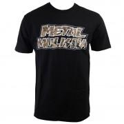 utcai póló férfi - Max - METAL MULISHA - BLK