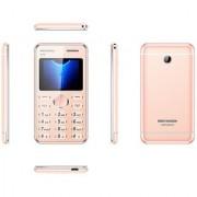 Kechaoda K55 PLUS SLIM CREDIT CARD SIZE keypad mobile phone with CAMERA /DUAL SIM/ BLUETOOTH DIALER / USB RoseGold
