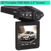 Tacson HD portable Dash Camera Dvr with 2.5 TFT LCD screen Whirl Function for Car