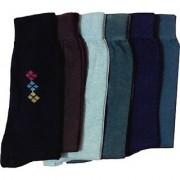 Deeshika Enterprises Mid-calf Length Socks ( pack of 12)