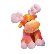 "Tie Dye Moose 8"" By Wishpets - Choose Your Color, One Moose Only"