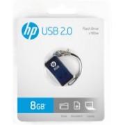 HP V-165 W - 8 GB Utility Pendrive(Blue)