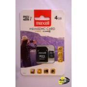 Maxell micro sdhc 4gb x-series+adapter class 10